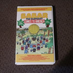 Babar Comes to America VHS